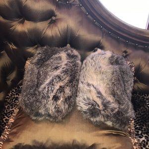 Fur boot / leg warmers